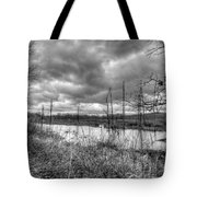 Bike Trail Off-season Tote Bag