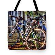 Bike Trek Tote Bag