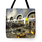 Bikes After The Storm  Tote Bag