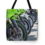 Bikes Lined Tote Bag