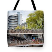 Bikes Parking In Amsterdam Tote Bag