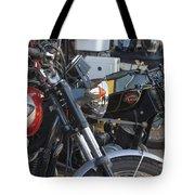 Old Motorbikes Tote Bag