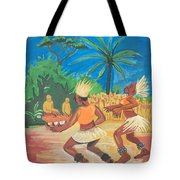 Bikutsi Dance 2 From Cameroon Tote Bag
