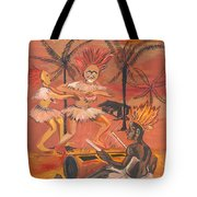 Bikutsi Dance From Cameroon Tote Bag