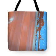 Bilateral Blue Tote Bag