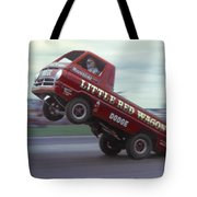 Bill Maverick Golden In The Little Red Wagon Tote Bag by Mike McGlothlen