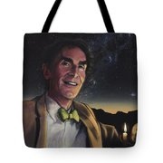 Bill Nye - A Candle In The Dark Tote Bag