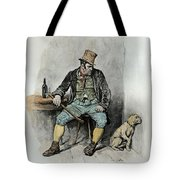 Bill Sykes And His Dog, From Charles Tote Bag