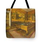 Billiard Room At Menil-hubert Tote Bag