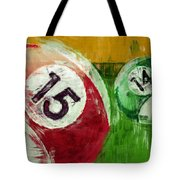 Billiards Abstract 15 14 Tote Bag