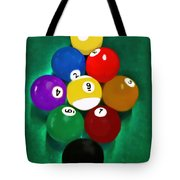 Billiards Art - Your Break 1 Tote Bag