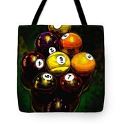 Billiards Art - Your Break 6 Tote Bag