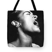 Billie Holiday (1915-1959) Tote Bag