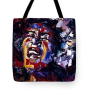 Billie Holiday Jazz Faces Series Tote Bag