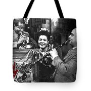 Billie Holiday Louis Armstrong Barney Bigard  New Orleans Set 1947-2010  Tote Bag