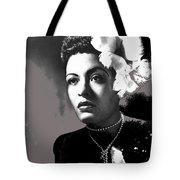 Billie Holiday Singer Song Writer No Date-2014 Tote Bag