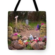 Billy Clanton And Frank Mclaury Tote Bag