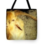 Billy Goat Gruff Tote Bag by Karen Wiles