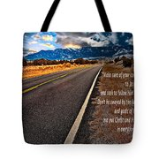 Billy Graham Quote Guidance Tote Bag