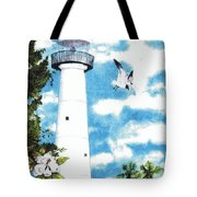 Biloxi Lighthouse Tote Bag