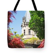 Biltmore And Japanese Maple Trees Tote Bag