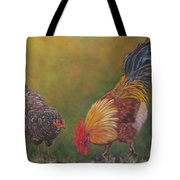 Biltmore Chickens  Tote Bag
