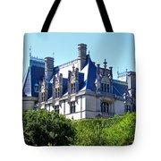 Biltmore House In Summer Tote Bag