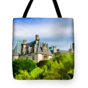 Biltmore In The Distance Tote Bag