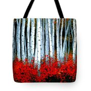 Birch 24 X 48  Tote Bag