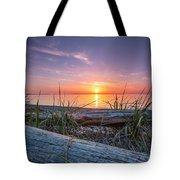 Birch Bay Sunset Tote Bag