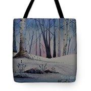 Birch Dawn Tote Bag