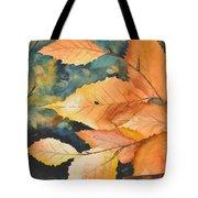 Birch Leaves Tote Bag