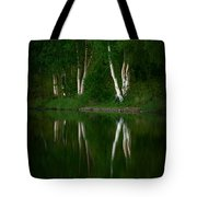 Birch Reflection Tote Bag