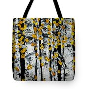 Birch Study Fall Tote Bag