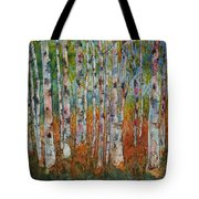 Birch Tranquility Tote Bag