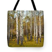 Birch Tree Grove No. 0126 Tote Bag