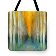 Birches Tote Bag