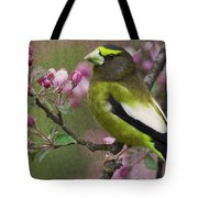 Bird 5 Tote Bag