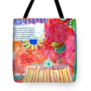 Bird And Romans Tote Bag