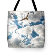 Bird And The Clouds Tote Bag
