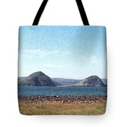 Bird Blind On The Beach Sketch Tote Bag