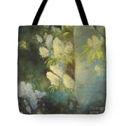 Bird Cherry Tote Bag