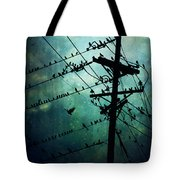 Bird City Tote Bag
