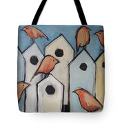 Bird Condo Association Tote Bag