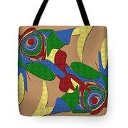 Bird Dance Tote Bag