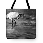 Bird Drinking Tote Bag