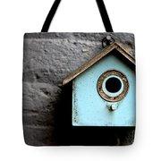 Bird House Of Blue By Diana Sainz Tote Bag