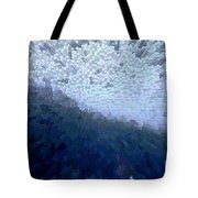 Bird In A Storm - Obstacle - Life Journey Tote Bag