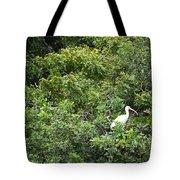 Bird In Bush Tote Bag