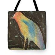 Bird In Gilded Frame Sans Frame Tote Bag